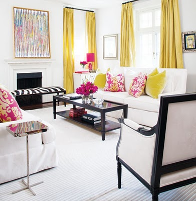 Chartreuse Color Schemes Pillows And Peonies