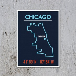 Affordable Wall Art - Illustrated Maps
