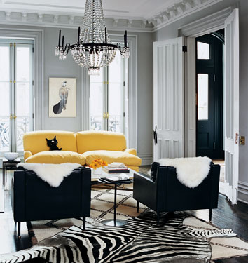 Jenna Lyons J. Crew Living Room Domino Magazine