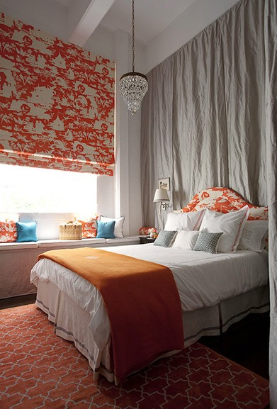 gray and orange color schemes pillows and peonies. Black Bedroom Furniture Sets. Home Design Ideas